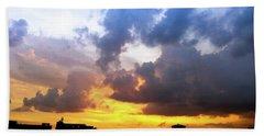 Sunset Sky Beach Sheet