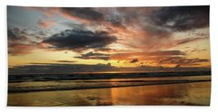 Sunset Split Beach Towel