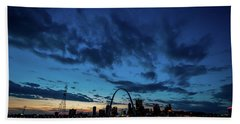 Sunset St. Louis IIi Beach Towel