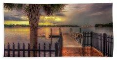 Sunset Storm Beach Sheet