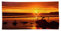 Sunset Surprise Beach Towel