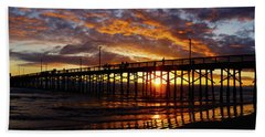 Beach Sheet featuring the photograph Sunset  by Thanh Thuy Nguyen