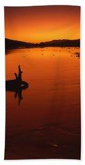 Sunset, The Wairau Valley Marlborough New Zealand Beach Towel
