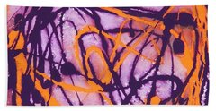 Sunset Twilight Beach Towel