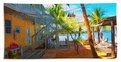Sunset Villas Patio Beach Towel