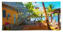 Sunset Villas Patio Beach Towel