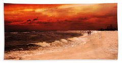 Sunset Walk Beach Towel