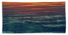 Sunset Water  Beach Sheet