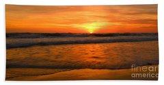 Cardiff Waves Beach Towel