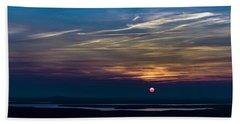 Sunset#3 Beach Towel