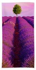 Sunsets Are Purple Beach Towel
