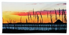 Sunsets Colors Beach Towel
