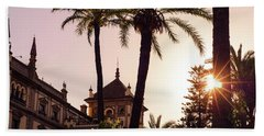 Sunsets Of Seville  Beach Towel