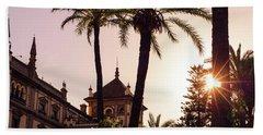 Sunsets Of Seville  Beach Sheet