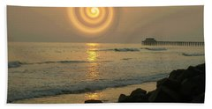 Sunsetswirl Beach Towel