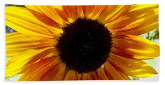 Sunshine Sunflower Beach Towel