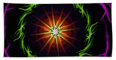 Sunstar Beach Towel