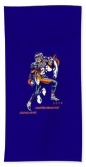 Beach Sheet featuring the drawing Super Bowl 2016  by Andrzej Szczerski