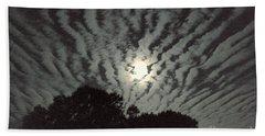 Super Moon Beach Towel by Irma BACKELANT GALLERIES