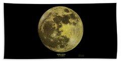 Super Moon Beach Sheet