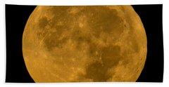 Super Moon Monday Beach Sheet