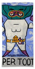 Super Tooth Beach Towel