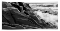 Beach Towel featuring the photograph Superior Edge        by Doug Gibbons