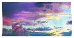 Supernatural Sky - Colorado Beach Towel