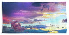 Supernatural Sky - Colorado Beach Towel
