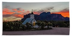 Superstition Sunrise II Beach Towel