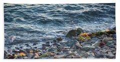 Surf And Rocks Beach Towel