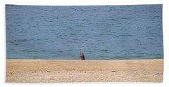 Surf Caster Beach Towel