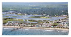 Surf City Topsail Island Sw Beach Towel