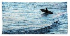 Surf Beach Towel by Elsa Marie Santoro