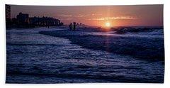 Surf Fishing At Sunrise Beach Sheet