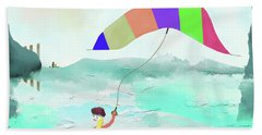 Surf Sailing Beach Towel