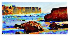 Surf The Headlands Beach Towel