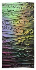 Surfaces - Psychedelic Metals No. 3 Beach Towel