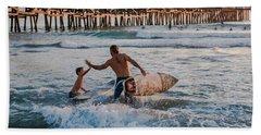 Surfboard Inspirational Beach Sheet
