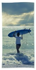 Surfer Girl Beach Sheet