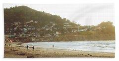 Surfers Just Before Sunset Beach Sheet