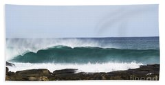 Beach Towel featuring the photograph Surfers Point by Angela DeFrias