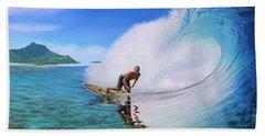 Surfing Dan Beach Sheet