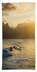Surfing Magic Beach Towel