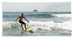 Surfing New Zealand Waves Beach Sheet