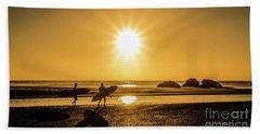Surfing Safari Beach Towel