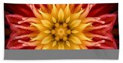 Surreal Flower No.1 Beach Sheet