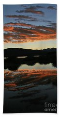 Surreal Sunrise Beach Towel