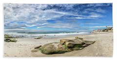 Beach Towel featuring the photograph Surrounded By Beauty by Peter Tellone