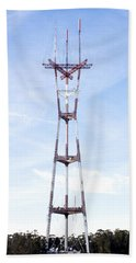 Sutro Tower Beach Towel